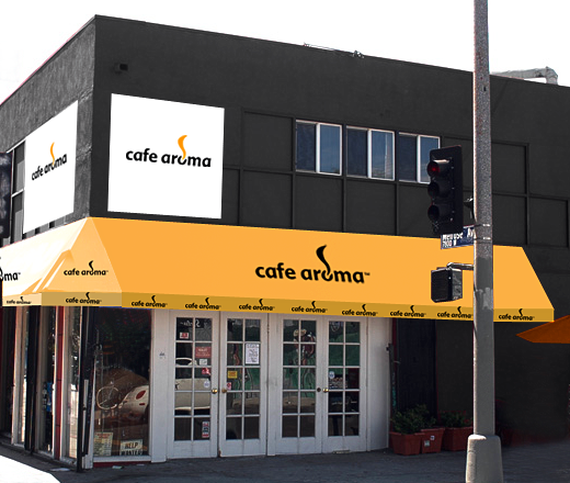 Cafe Aroma Identity Pld Phillip Lee Design