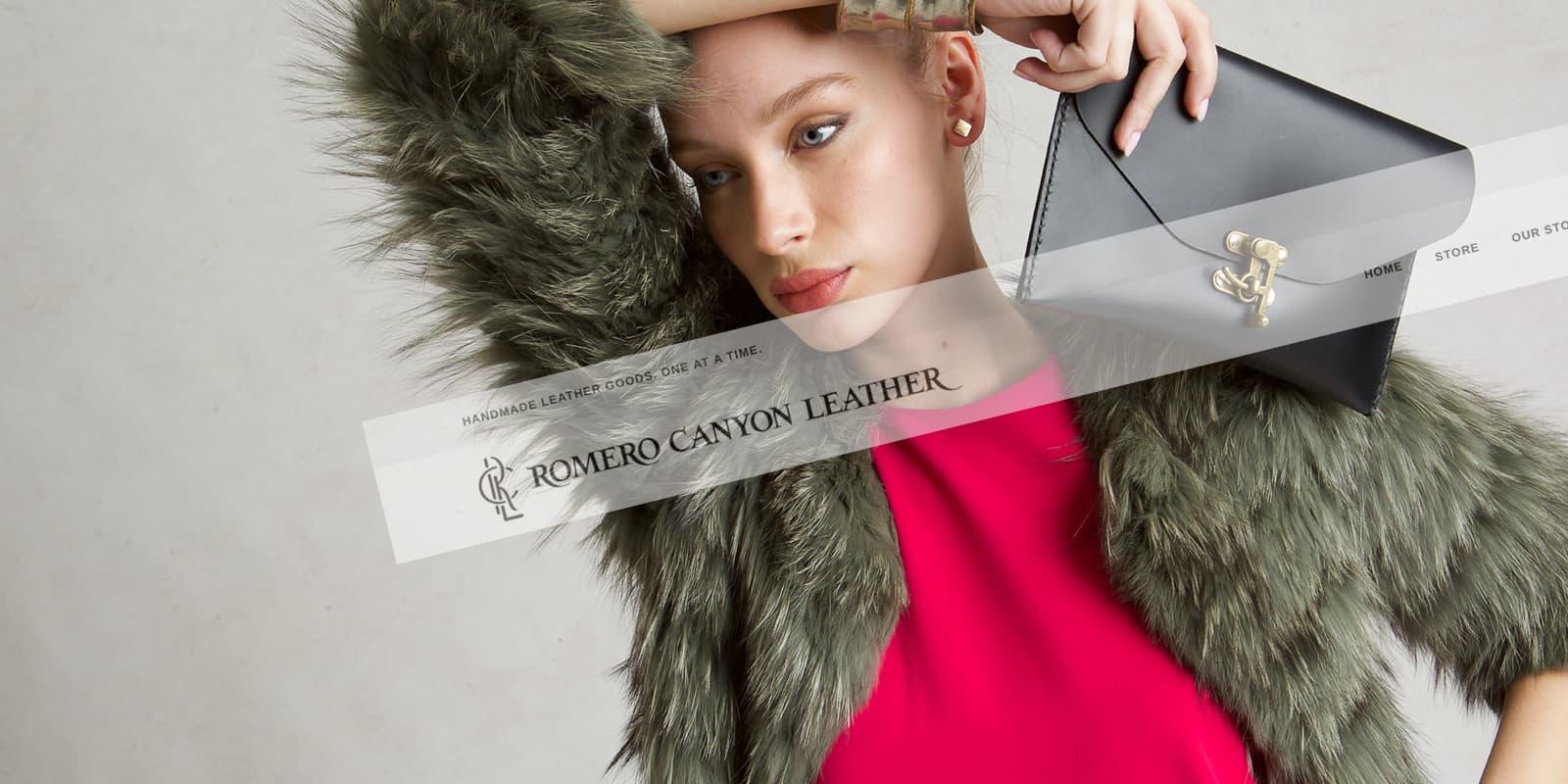 romero canyon leather